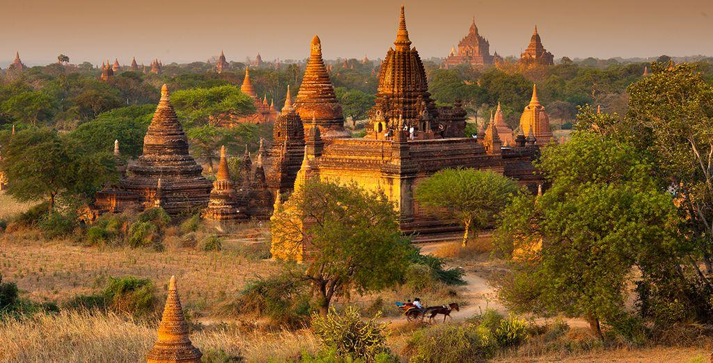 Totalement subjugué, vous débarquerez à Bagan...