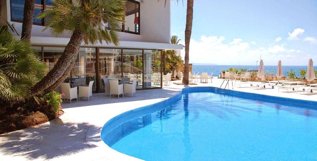 Nous vous avons déniché un petit coin de paradis... - Hôtel Be Live Marivent 4* Palma de Mallorca