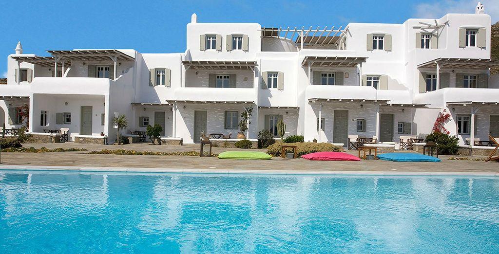 Offrez-vous une virée à la résidence Yakinthos Mykonos - Résidence Yakinthos Mykonos 4* Mykonos
