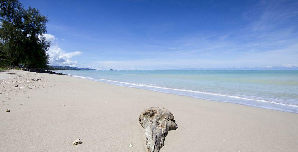 Puis vous rejoindrez les rives de la mer Andaman