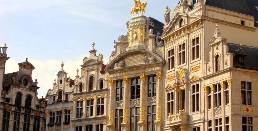 Bruxelles è la città dalle belle piazze