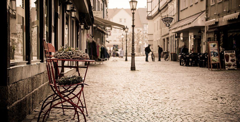 a pochi minuti dall'atmosfera romantica del Quartiere Latino,