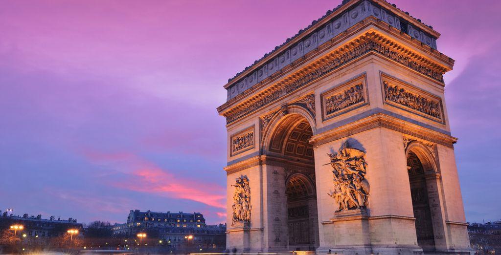 E vivete la vibrante Parigi