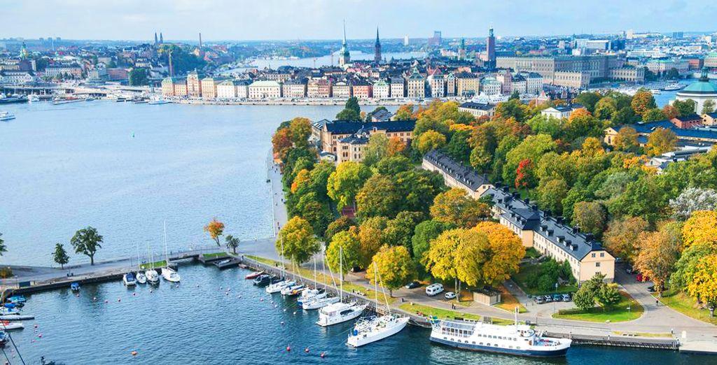 L'isola di Skeppsholmen, che emerge dal Lago Mälaren, è una vera meraviglia.