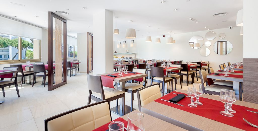 Il ristorante vi servirà piatti raffinati e ricercati