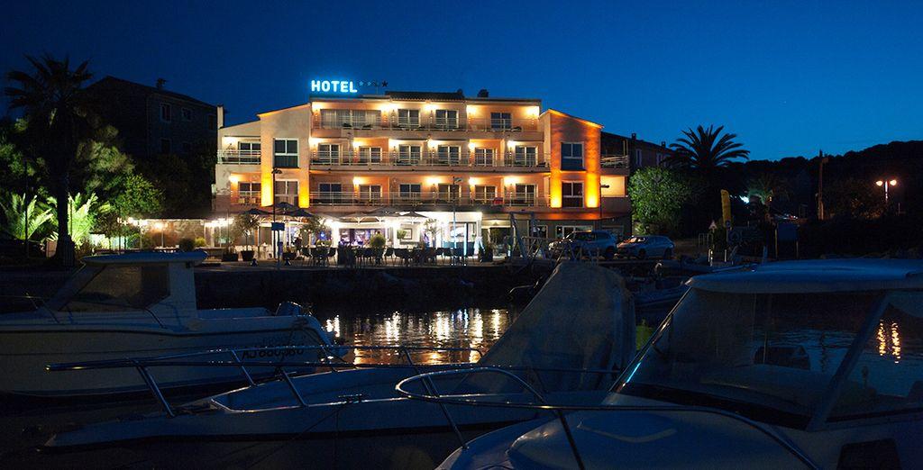 L'Hotel Le Golfe Casanera 4* vi dà il benvenuto