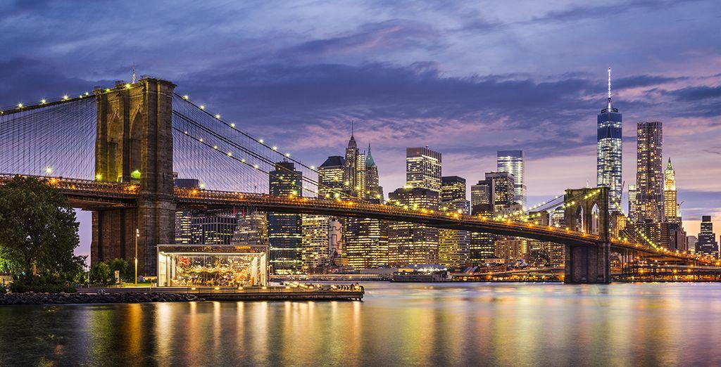 La vitalità di New York vi affascienrà