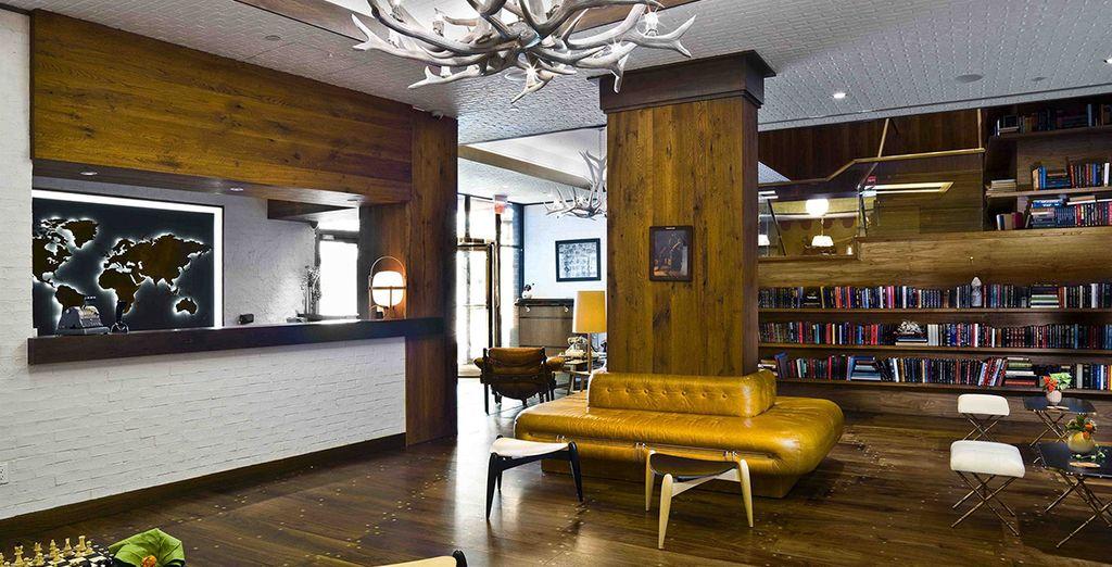 L'hotel Gild Hall vi attende in un ambiente vintage e di design