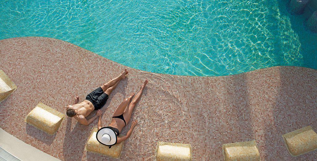 nella quale potrete rilassarvi al sole