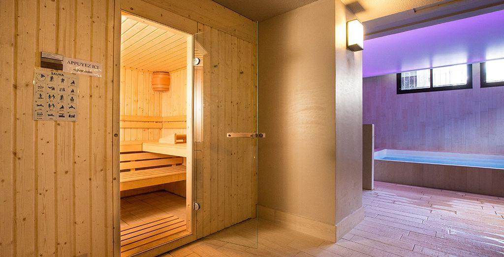 Oppure usufruite delle ore di accesso alla sauna incluse nelle nostre offerte