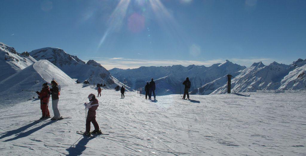 Per poi tornare rigenerati a godervi la neve e le splendide piste del comprensorio