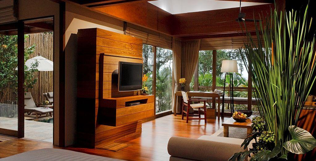 Spaziosa e dotata di master room e soggiorno