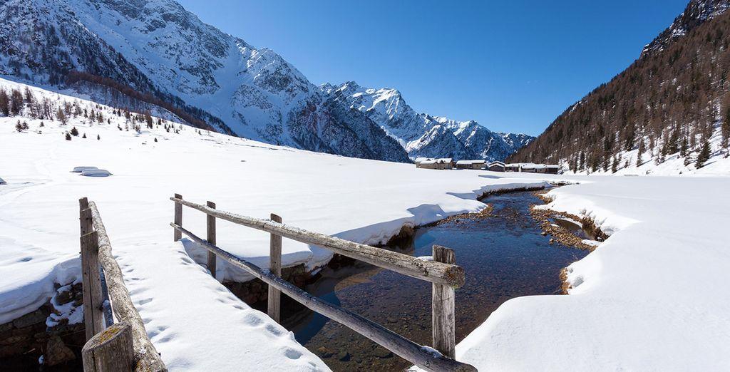 Alpi dolomitiche innevate