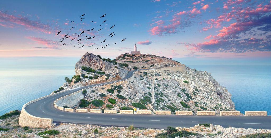 Fotografia del Cap de Formentor nelle Isole Baleari