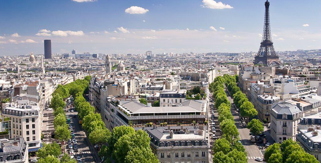 Parite alla scoperta della splendida Parigi!