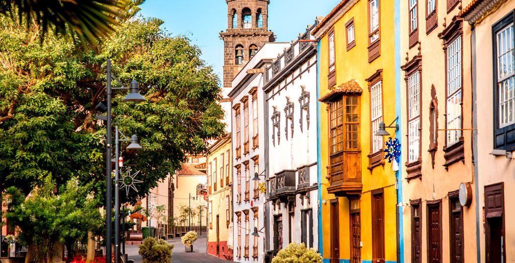 Fotografia della città di Tenerife