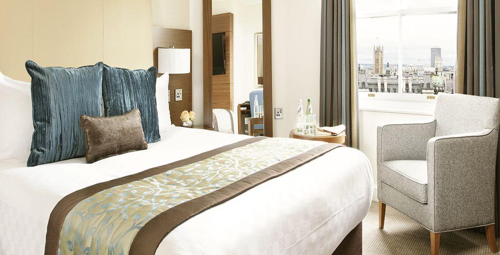 Le camere Standard dell'Every Hotel Piccadilly 4* sono ampie e dotate di ogni comfort più moderno