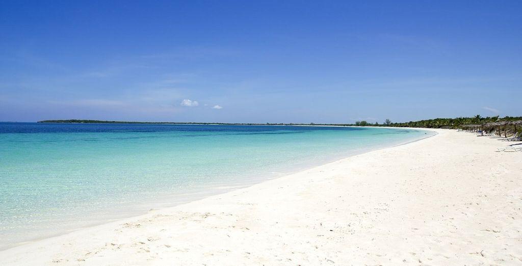 Una spiaggia incantevole vi attende
