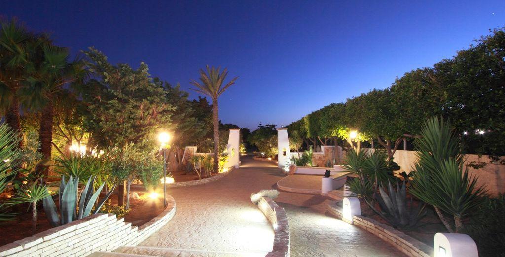 Una location incantevole in stile mediterraneo