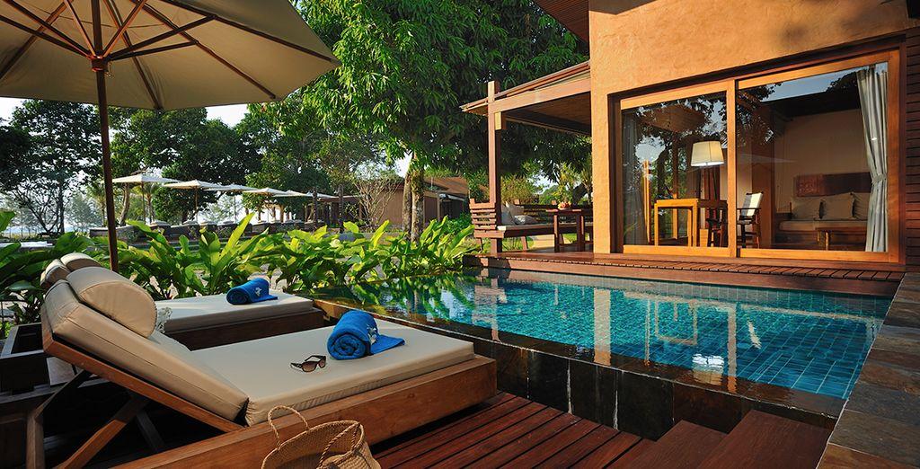 Qui soggiornerete in una Pool Villa da sogno