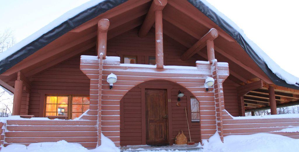 Recensioni lapponia alla ricerca dell 39 aurora boreale for Case alla ricerca di cottage
