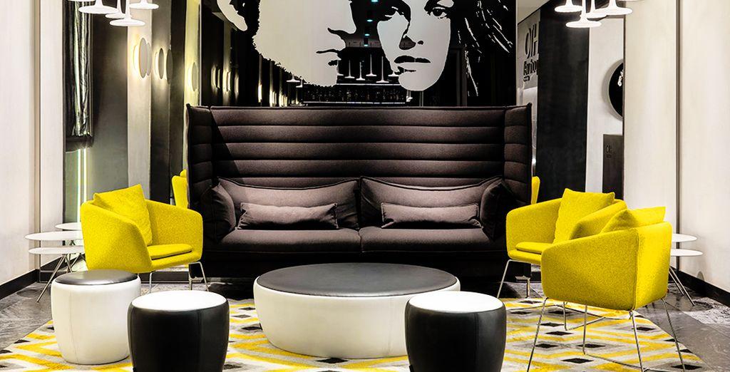Un hotel a Barcellona dal design curato e piacevole