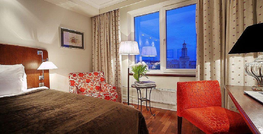 Le vostre camere Classic, dove potrete riposare dopo una giornata alla scoperta di San Pietroburgo