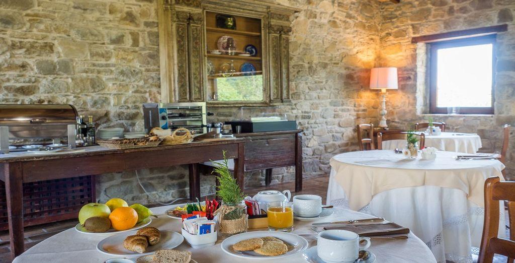 ed iniziare la giornata con un'ottima prima colazione