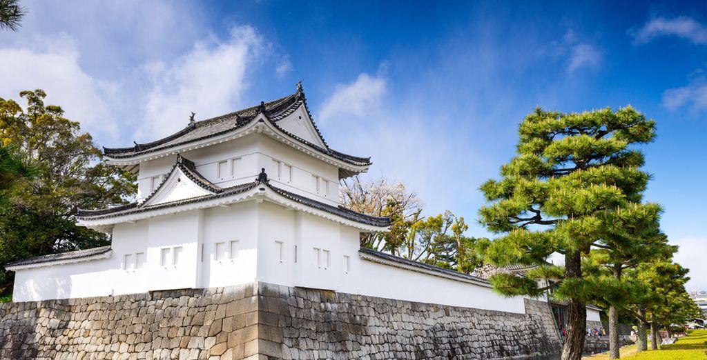Fotografia del Castello di Nijo a Osaka