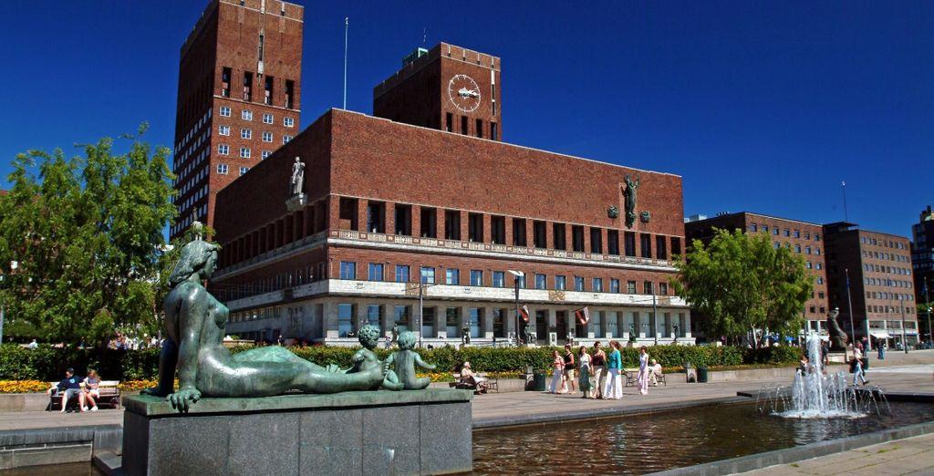 Passerete per il Municipio di Oslo