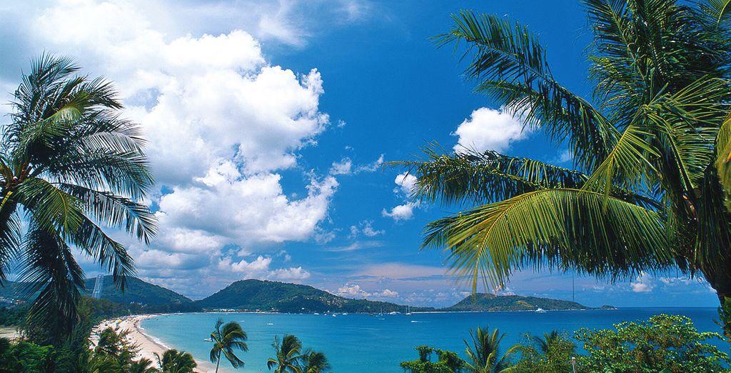 Proseguirete alla volta di Phuket sulla bellissima Patong Beach