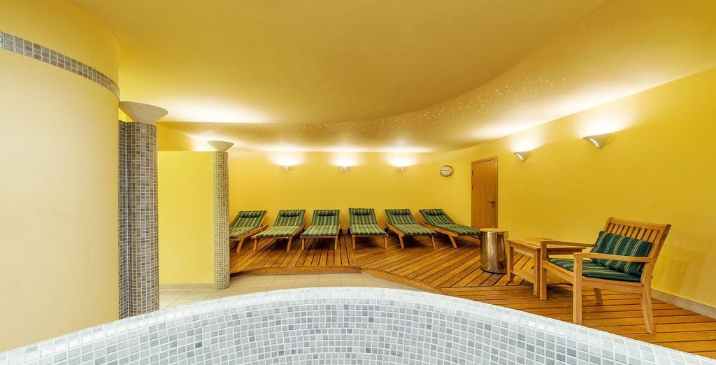 dopo una giornata alla scoperta della città, la sauna sarà la location perfetta per rigenerarvi