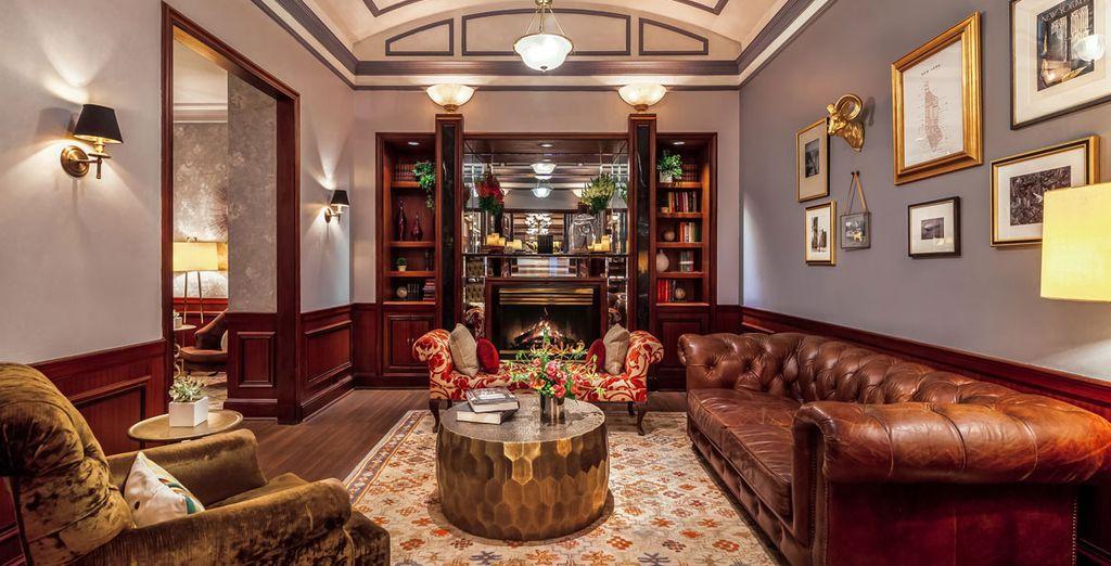 Uno splendido Boutique Hotel che vanta ambienti eleganti curati in ogni dettaglio