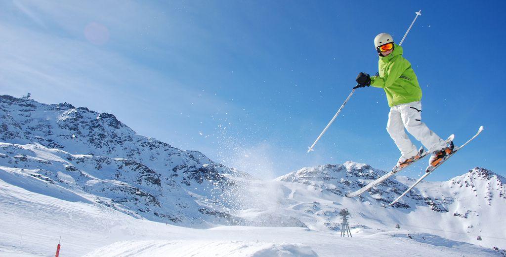 Godetevi la vostra vacanza sulla neve