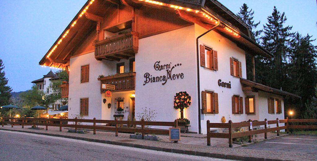 Soggiornate all'hotel Garni Biancaneve