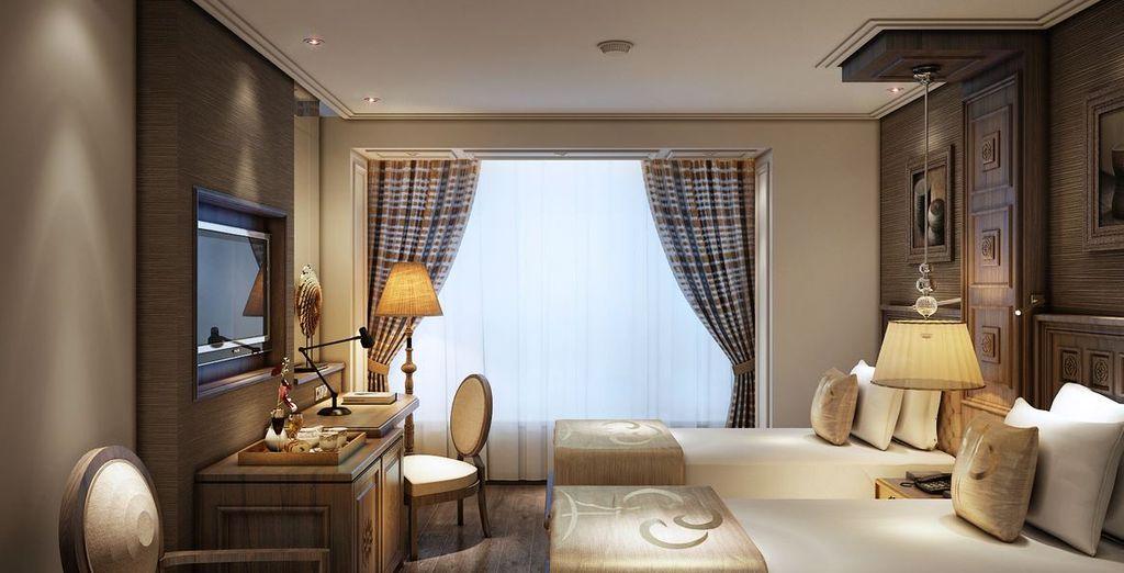 Durante il viaggio riposerete in confortevoli hotel 4*, tra cui Le Belle Vie Hotel a Ha Noi