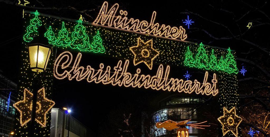Visitate la città durante i famosi mercatini di Natale