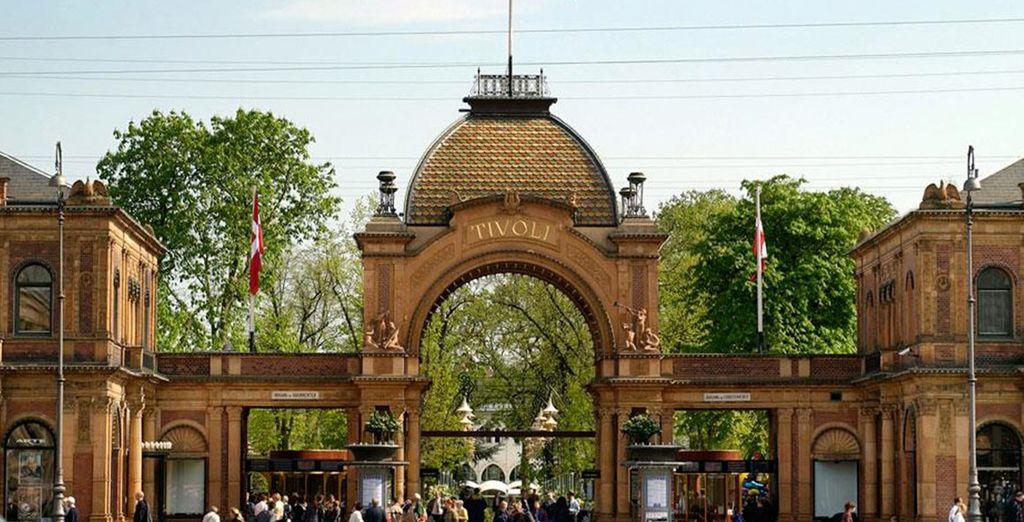 ...Copenhagen, il parco di attrazioni Tivoli