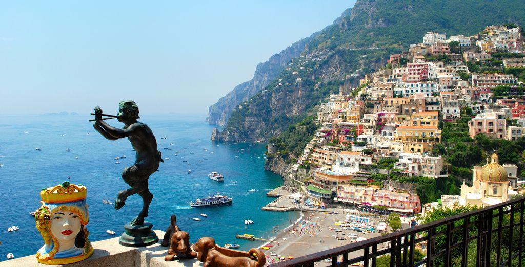 E approfittate delle escursioni opzionali sulla costiera Amalfitana