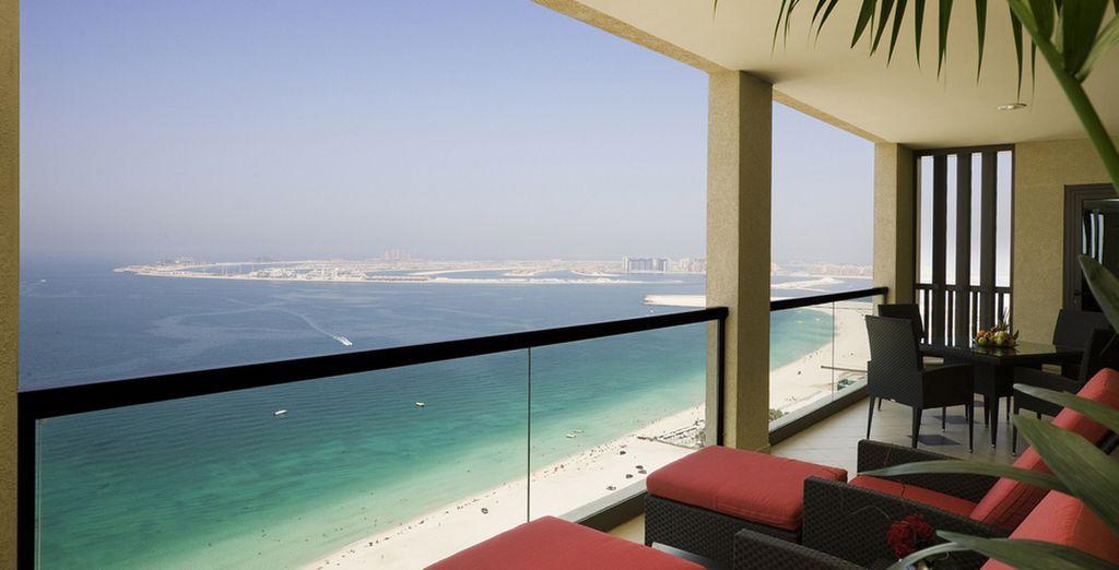 Preparatevi a godere della vista emozionante su Jumeirah Beach