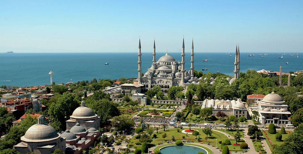 Partite alla scoperta dei tesori di Istanbul...