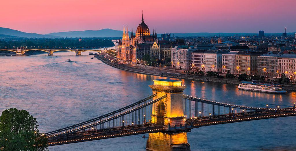 ...nell'elegante e sfarzosa Budapest.