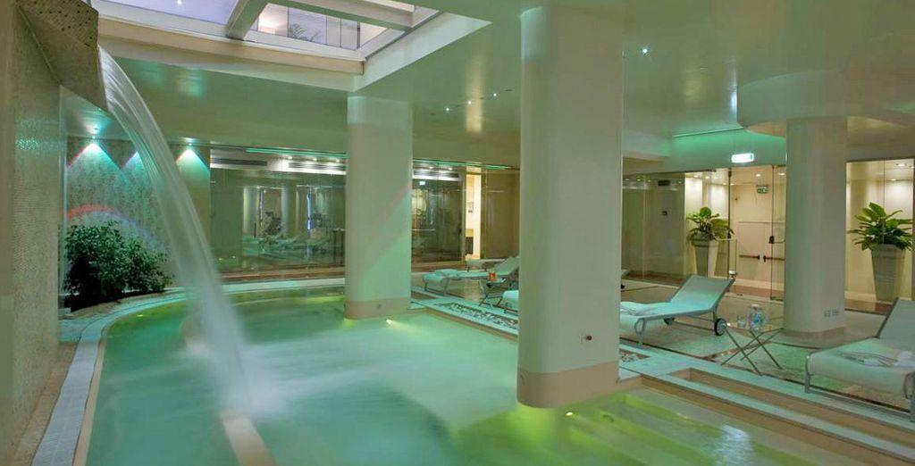 Visitate la Spa dell'hotel, una delle migliori della città!