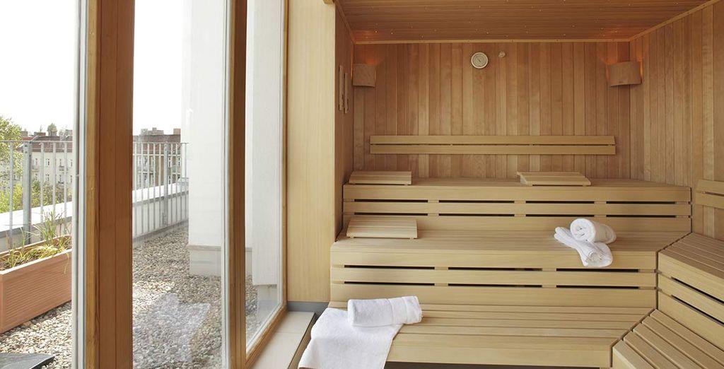 E concedetevi una sauna rilassante