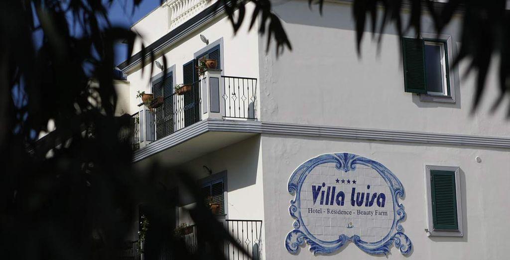 L'Hotel Beauty Farm Villa Luisa vi attende, pronto ad accogliervi