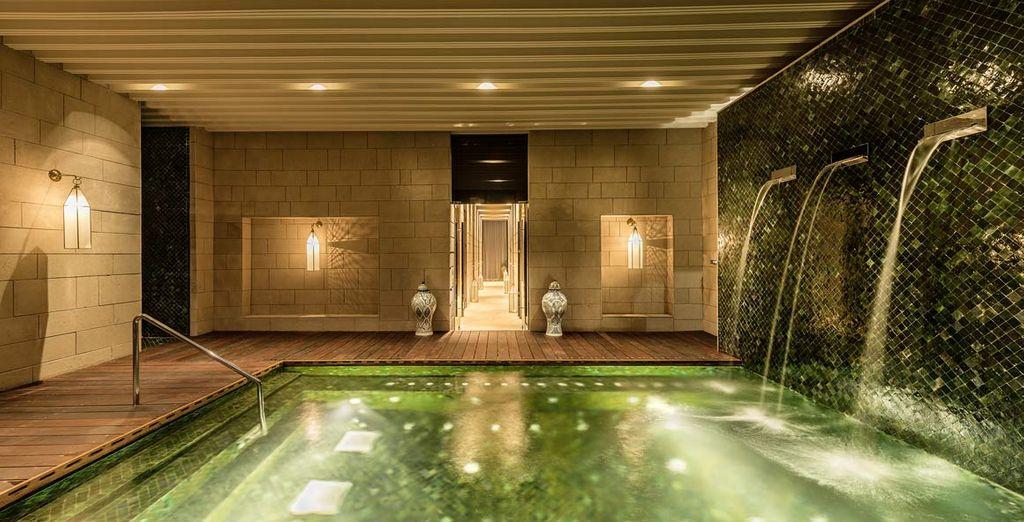 o coccolatevi nella raffinata spa dell'hotel