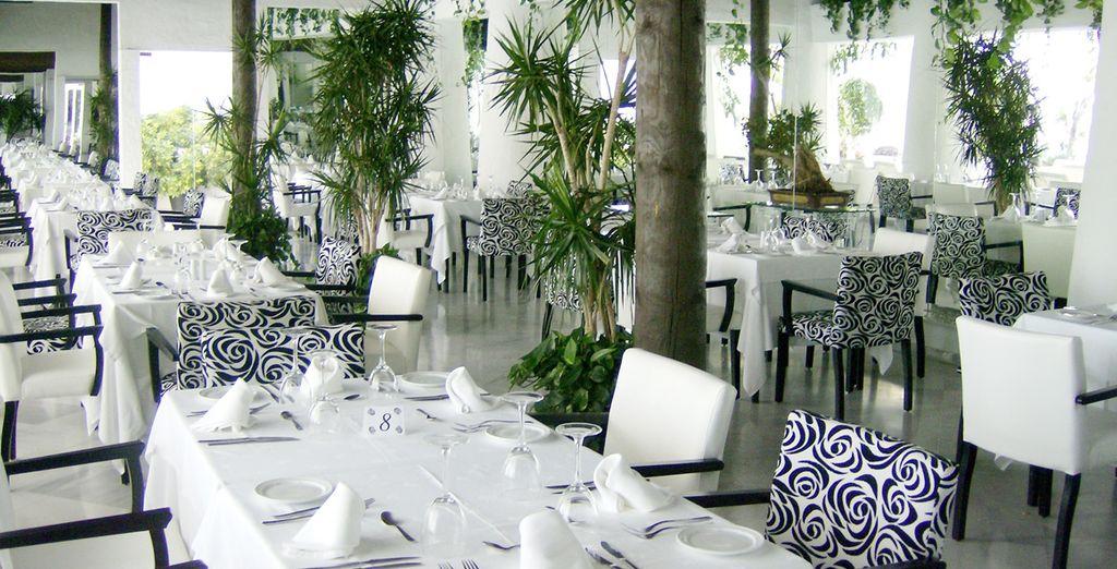al ristorante potrete assaporare piatti internazionali