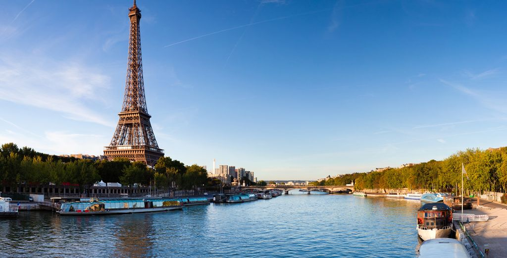 La Senna, cuore azzurro di Parigi