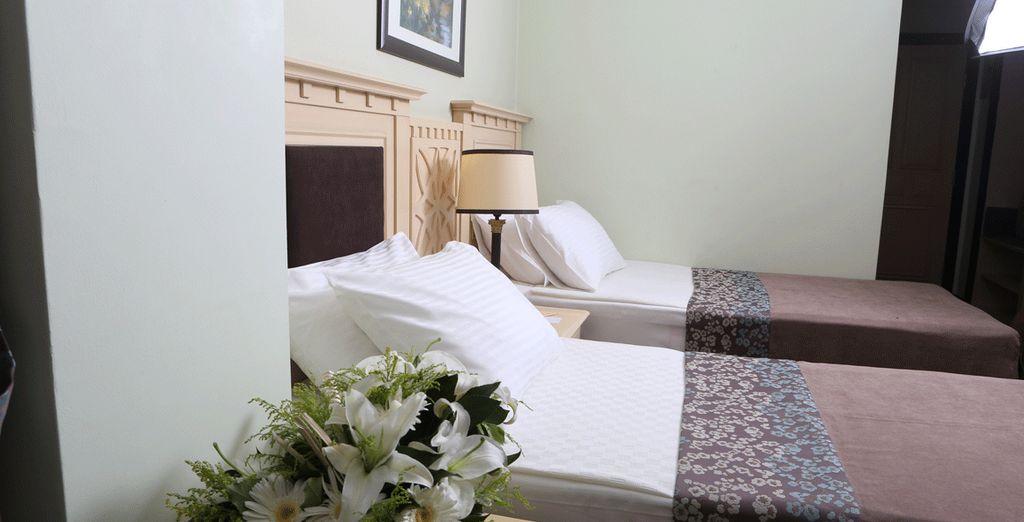 Rilassatevi nella vostra confortevole camera Standard