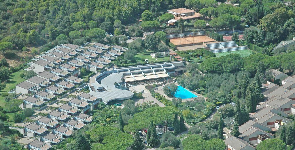 Ad accogliervi c'è il Residence Solemaremma immerso nel verde